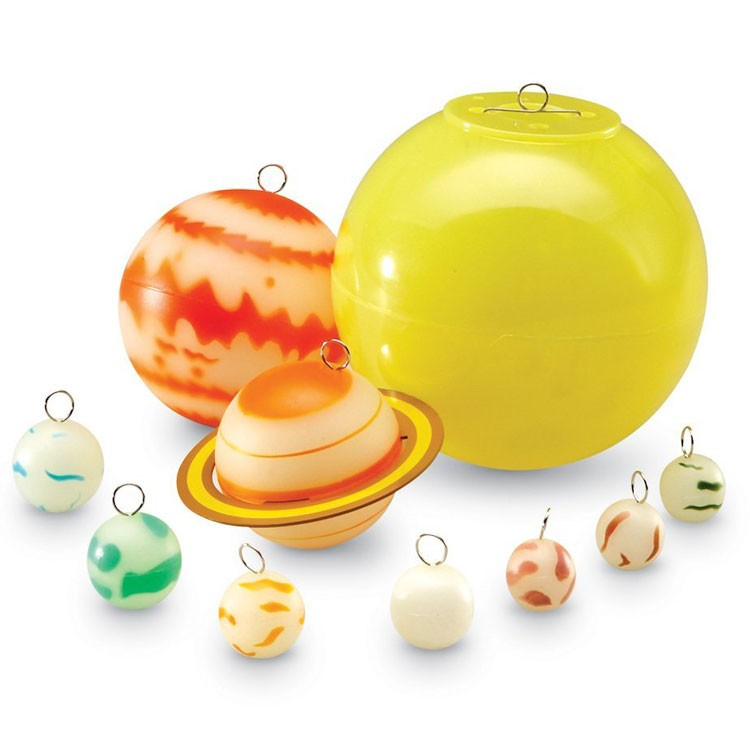 Solar System And Planet Toys : Glow in the dark solar system educational toys planet