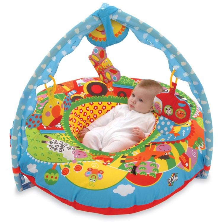 Baby Activity Toys : Baby playnest inflatable activity gym farm educational