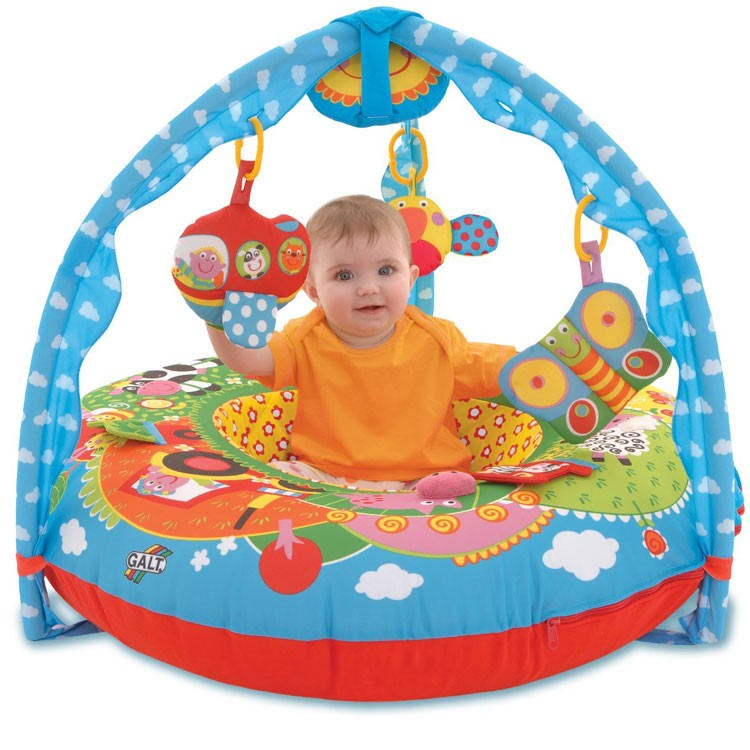 Baby Playnest Inflatable Activity Gym Farm Educational