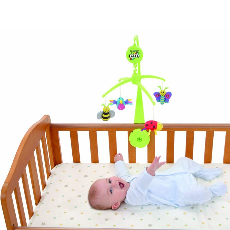 Crib Toys Learning : Baby mobile bugs bird musical crib toy educational