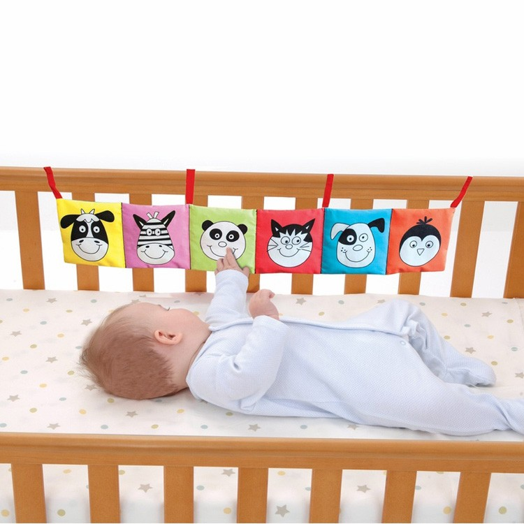 Crib Toys Learning : Baby first book crib bumper educational toys planet