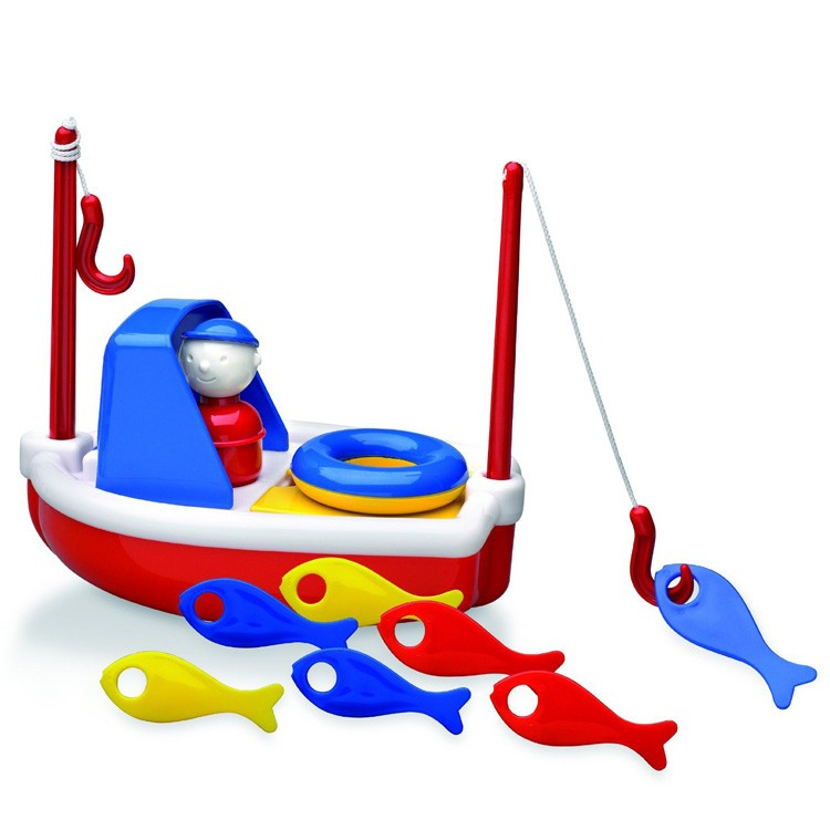 Outdoor Toddler Toys Boats : Fishing boat toddler bath toy educational toys planet