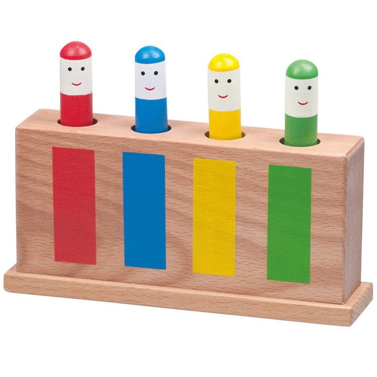 Toys For 6 And Up : Pop up wooden toy educational toys planet