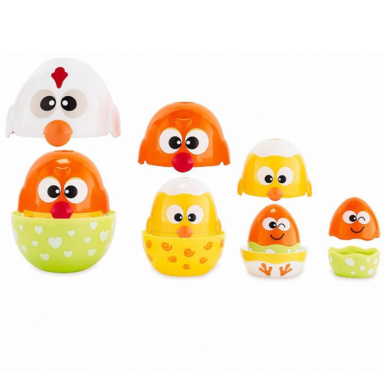 Chicken Amp Egg Stacker Baby Activity Toy Educational Toys