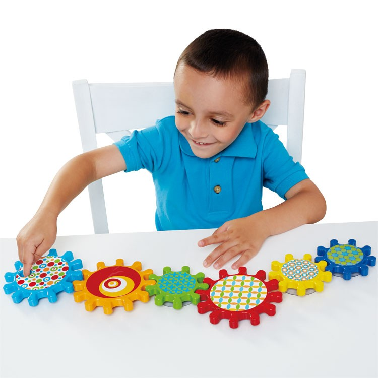 Manipulative Educational Toys : Spinnin gears toddler manipulative toy educational toys