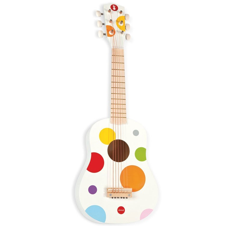 Toy Musical Instruments : Toy acoustic guitar confetti musical instrument