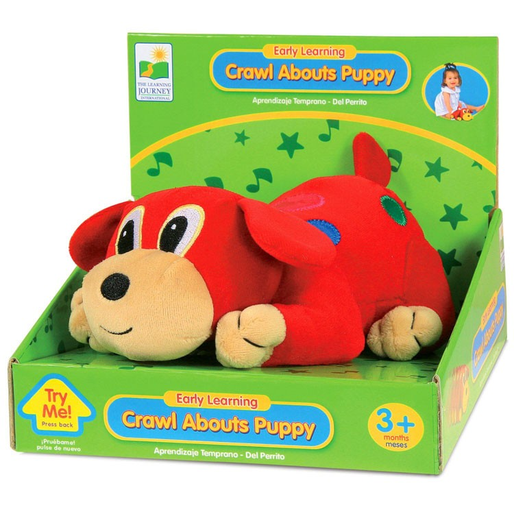 Toys For Learning To Crawl : Crawl about puppy baby crawling toy educational toys planet