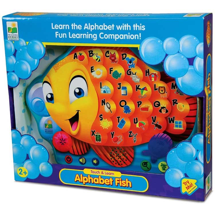 Abc Learning Toys : Alphabet fish electronic touch learn board educational