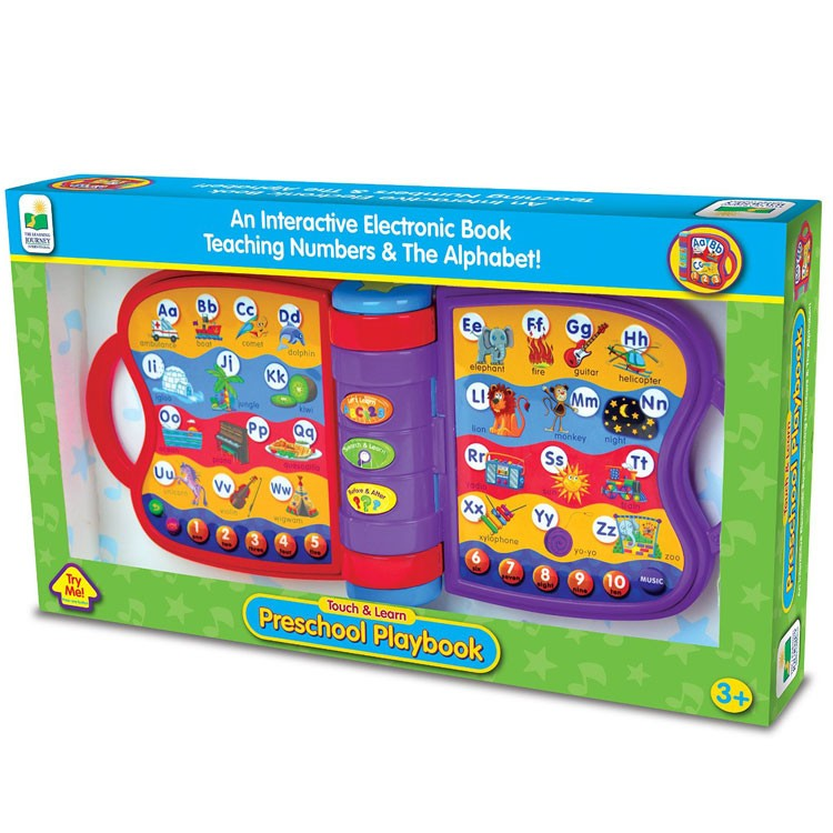 Preschool Learning Toys : Preschool playbook electronic learning toy educational