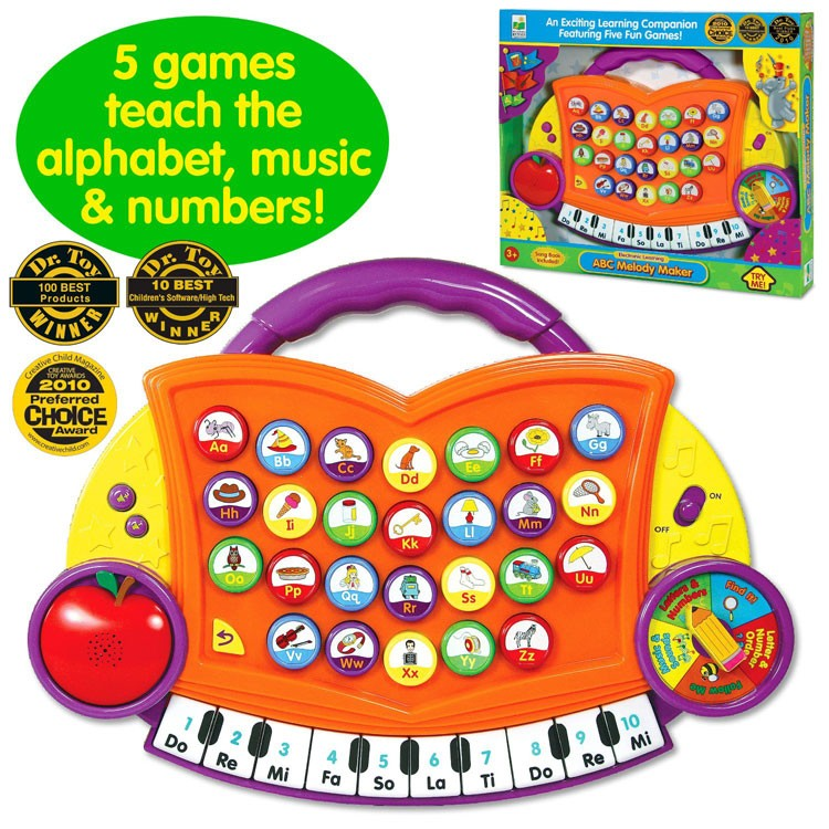 ABC Melody Maker Electronic Toy - Educational Toys Planet