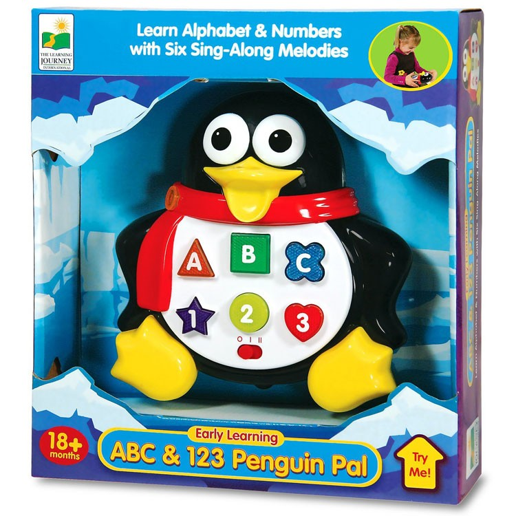 Abc Learning Toys : Early learning abc penguin pal electronic toy