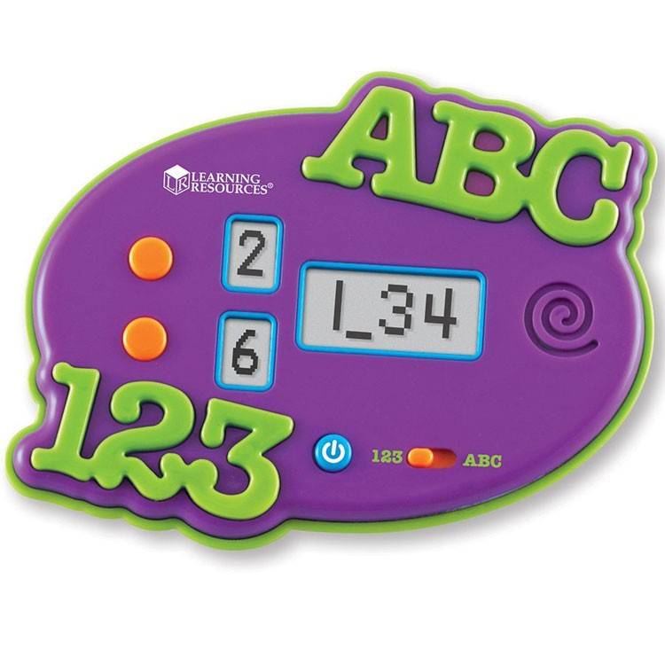 ABC & 123 Electronic Flash Card Game - Educational Toys Planet