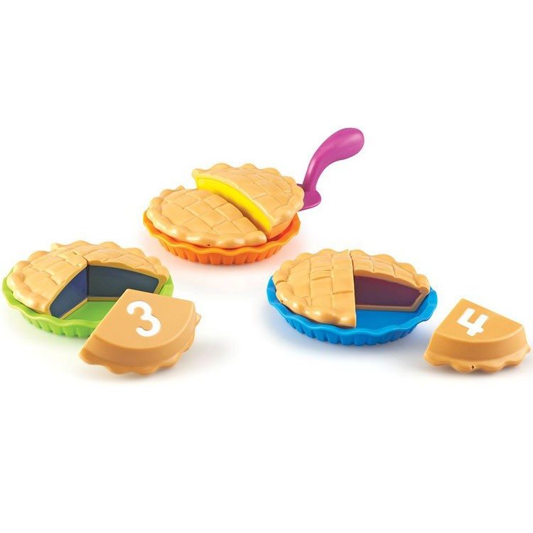 Puzzle Pies Numbers Amp Fractions Food Play Set