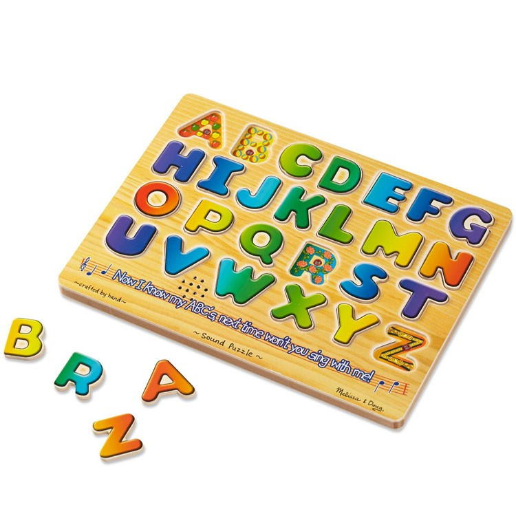 Alphabet Learning Toys : Alphabet sound puzzle learning toy educational toys planet