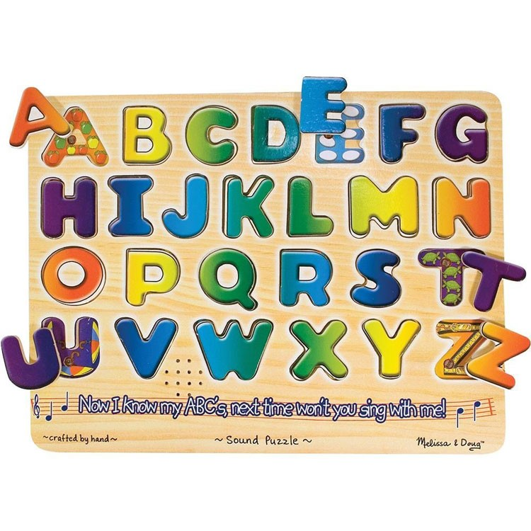 Abc Learning Toys : Alphabet sound puzzle learning toy educational toys planet