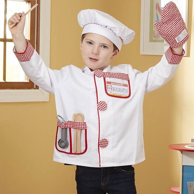 Chef Costume Role Play Set Educational Toys Planet