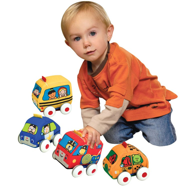 Pull Back Autos Toddler Car Set