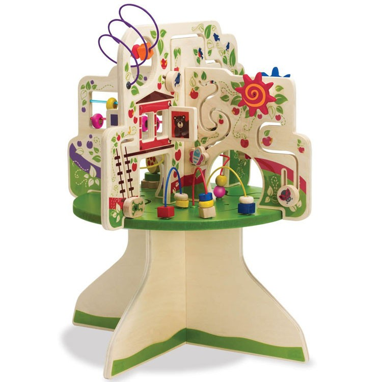 Tree Top Adventure Toddler Activity Table Educational