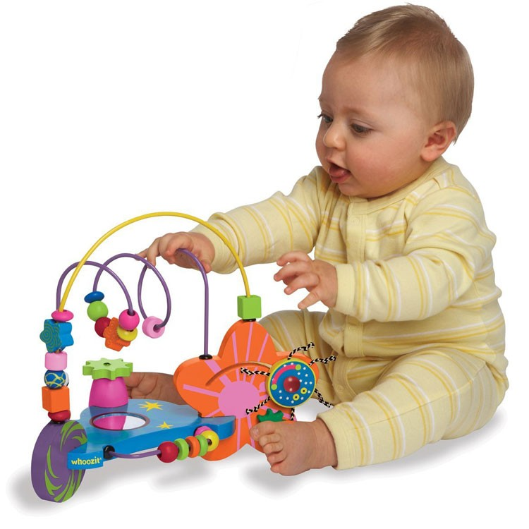 Whoozit Cosmic Bead Maze Baby Toy Educational Toys Planet