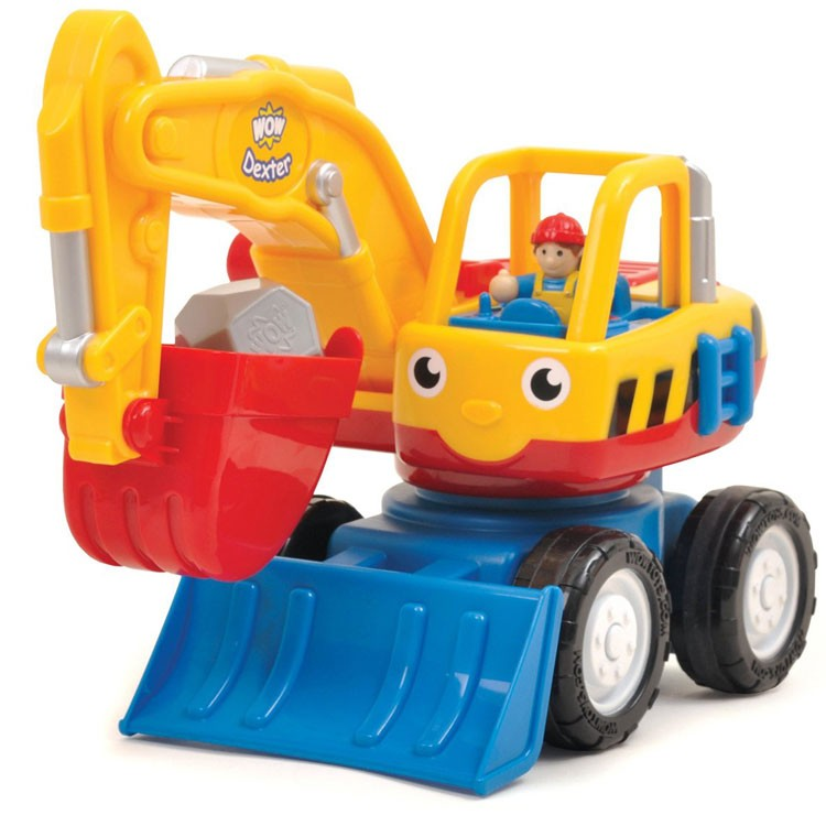 Digger Toys For Boys : Dexter the digger toddler toy vehicle set educational