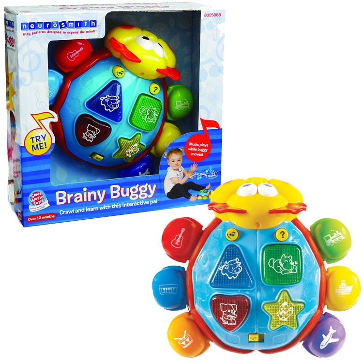 Electronic Learning Toys For Toddlers : Brainy buggy toddler electronic learning toy educational