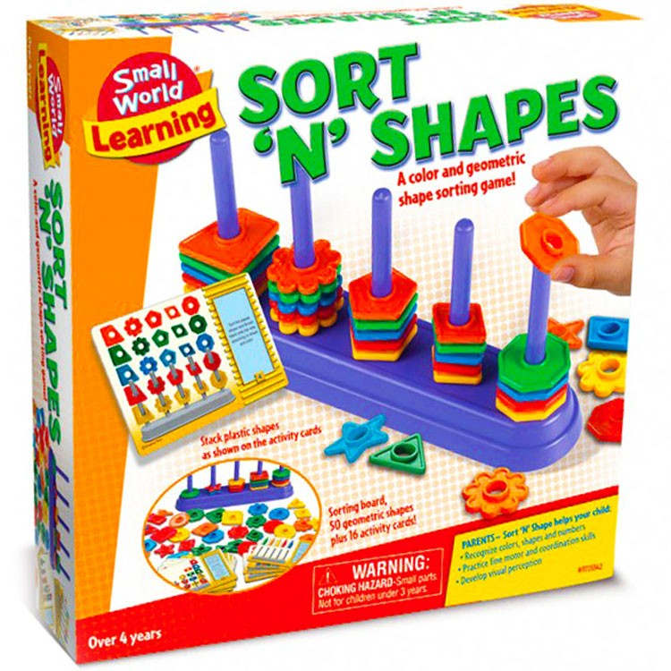 Sorting Shapes Learning Game - Educational Toys Planet