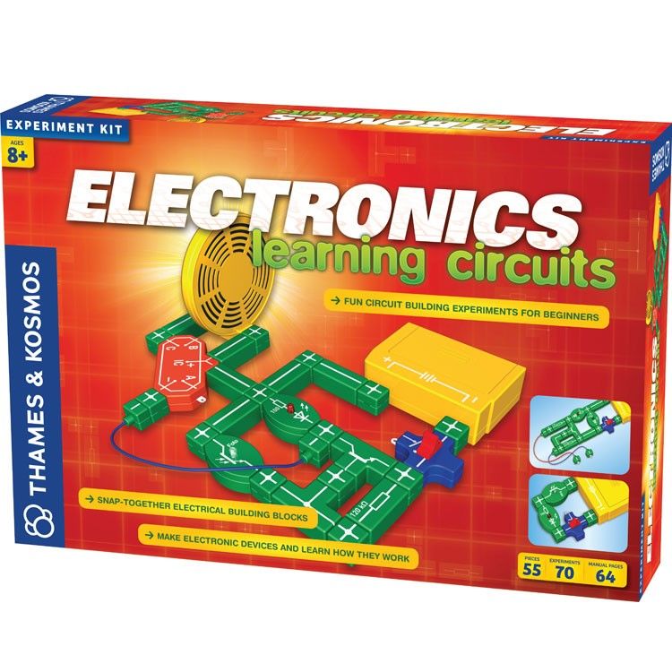 Electronic Learning Toys : Electronics learning circuits science kit educational