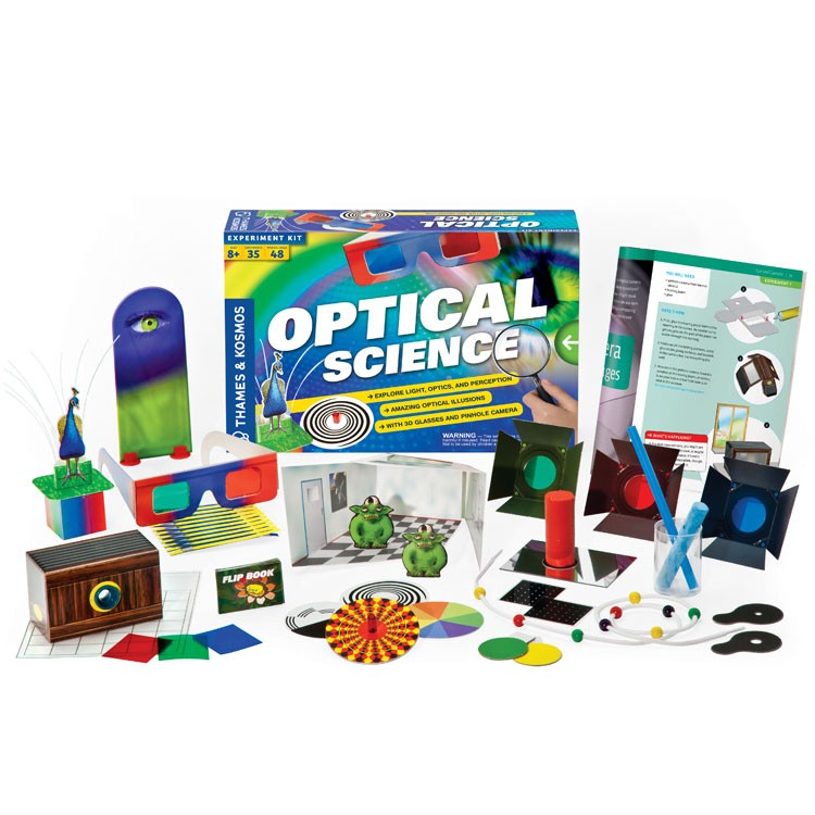 optical science amp art science kit   new edition