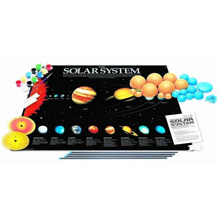 3D Solar System Mobile Craft Kit - Educational Toys Planet
