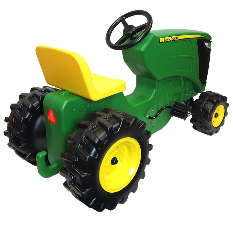 Pedal Toys For Boys : John deere plastic pedal tractor ride on toy educational
