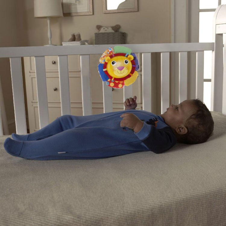 Crib Toys Learning : Lamaze logan the lion soother crib toy educational toys