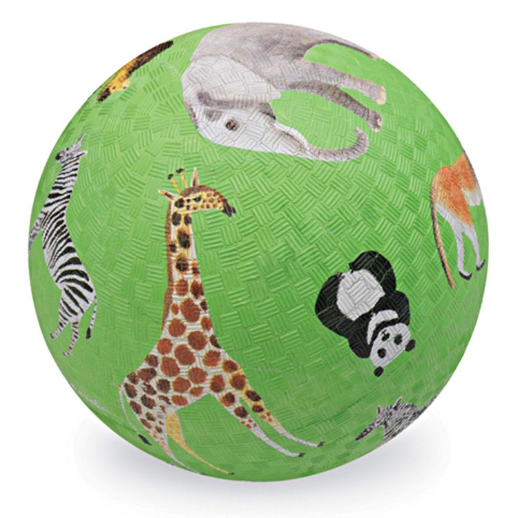 Safari Toys For Boys : Safari animals inch textured play ball for kids