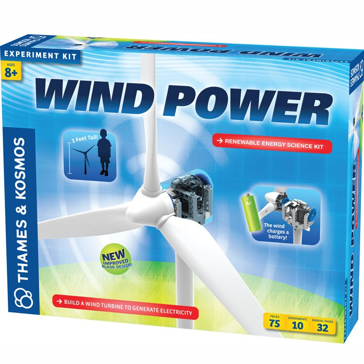 Wind Power Energy Science Kit Educational Toys Planet