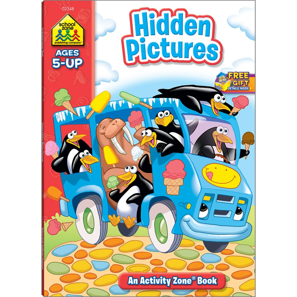Hidden Pictures Activity Book - 64 Pages - Educational Toys Planet