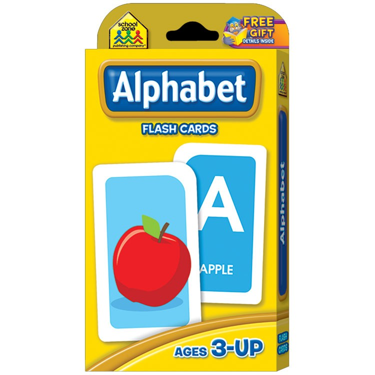Alphabet flash cards educational toys planet for Educational coloring pages abc flash cards