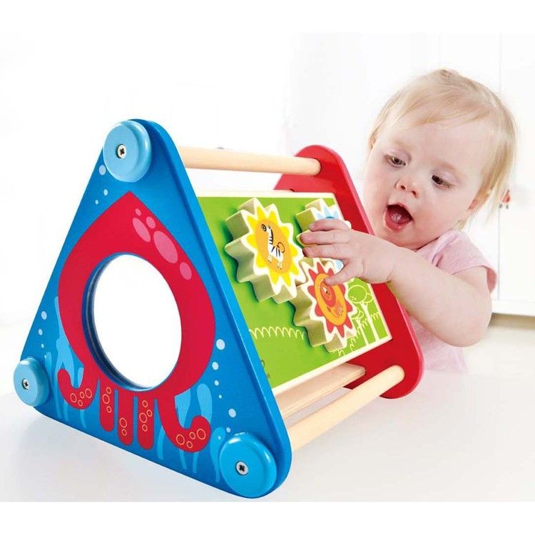 Manipulative Educational Toys : Take along baby manipulative activity box educational