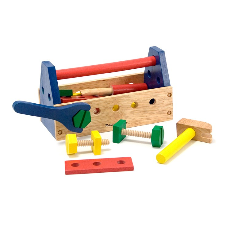 Toy Tool Set : Take along tool kit wooden toy tools set educational