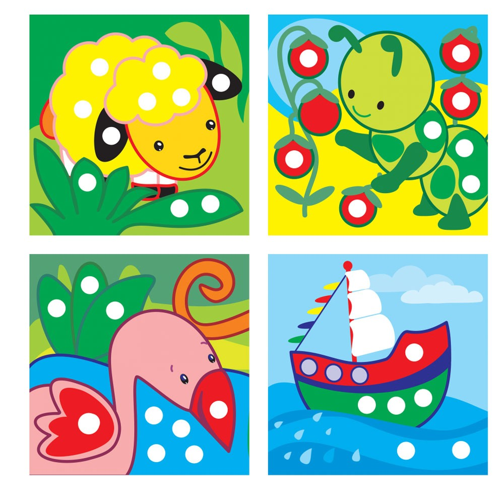 Little Ones Colors Toddler Sticker Activity Book - Educational Toys ...