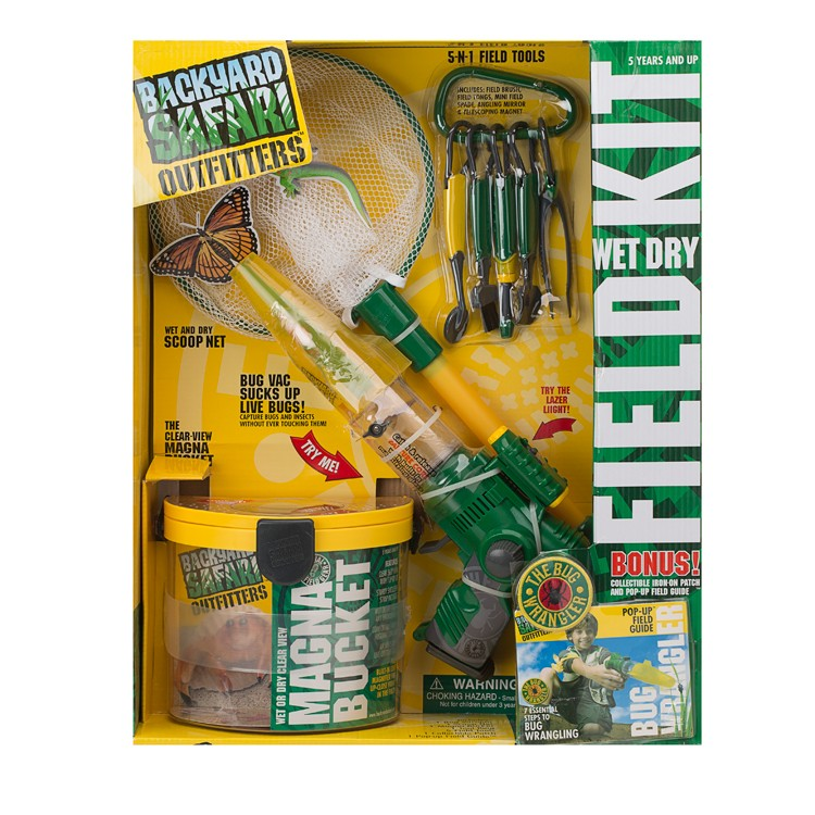 Backyard Safari Wet & Dry Field Exploration Kit