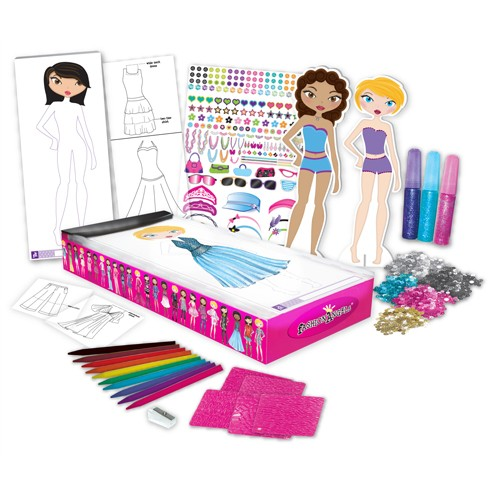 Deluxe Fashion Design Studio Kit