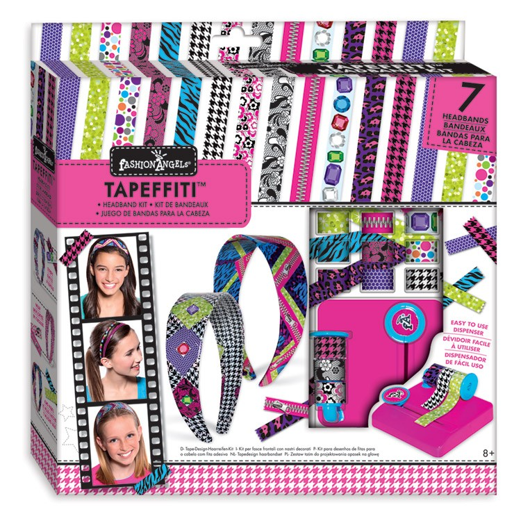 Tapeffiti headband decorative craft kit for girls for Crafts for girls age 9