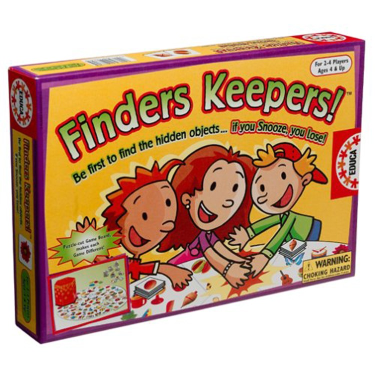Finders Keepers Find Hidden Objects Game Educational