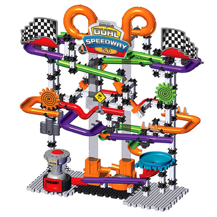 Techno Gears Marble Mania Dual Speedway 20 Educational Toys Planet