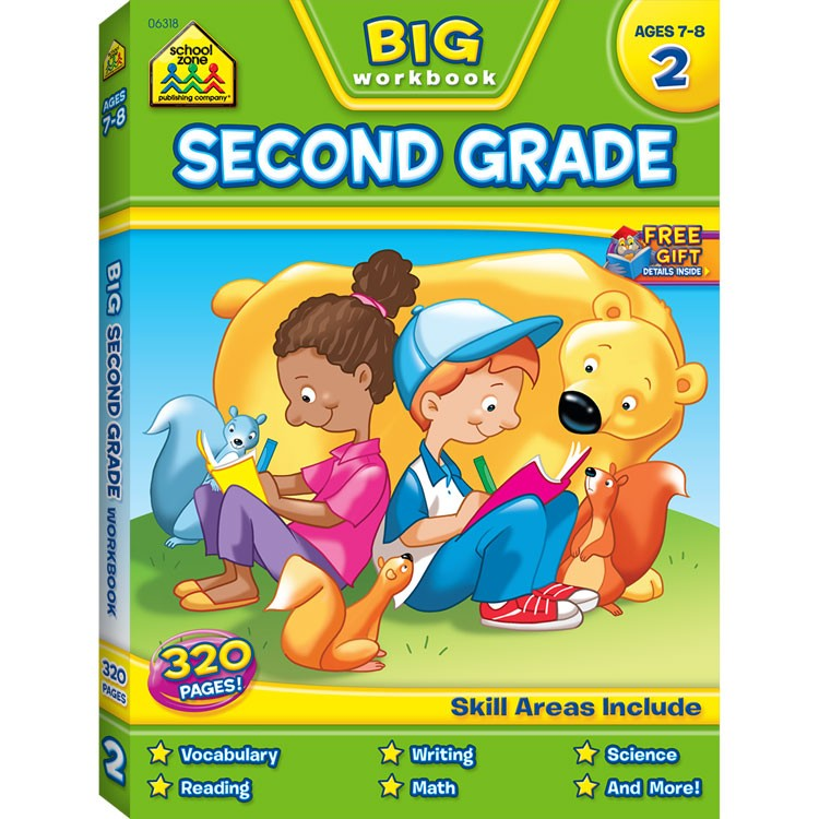 Toys For Grade 1 : Big pages kids workbook nd grade educational toys