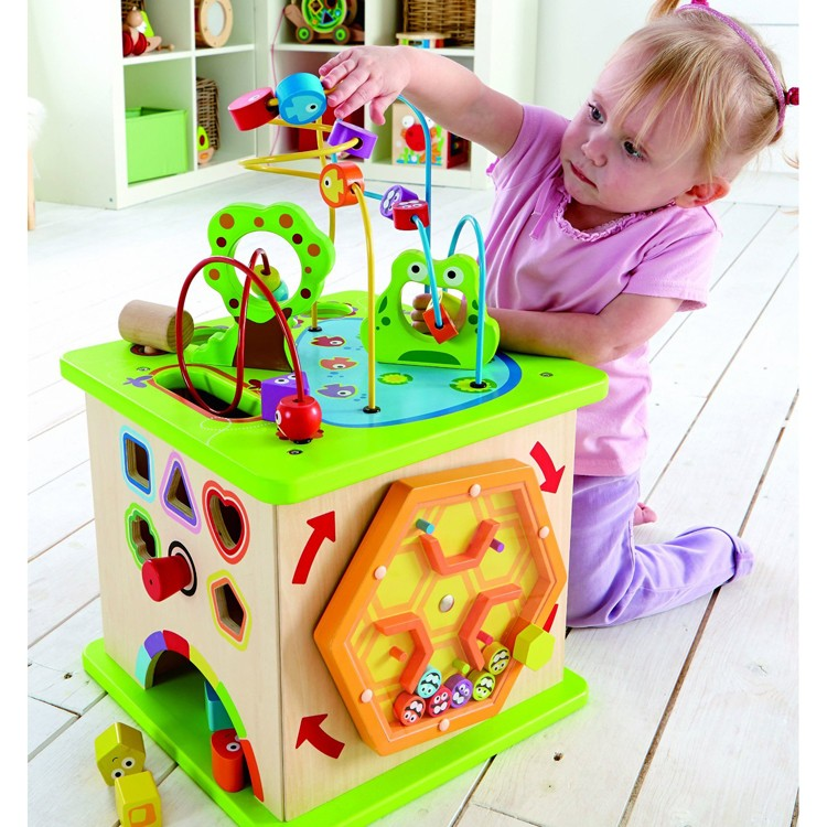 Country Critters Multi Activity Toddler Play Cube ...