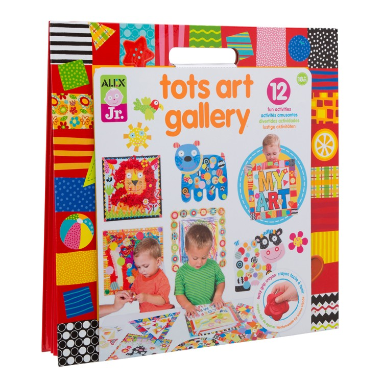 tots art gallery toddler craft kit educational toys planet. Black Bedroom Furniture Sets. Home Design Ideas