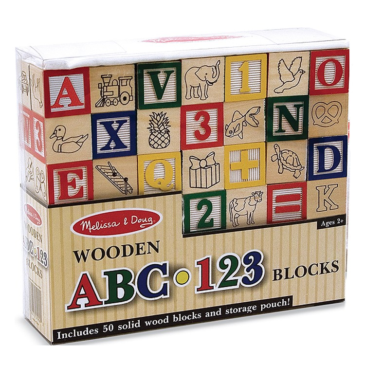 Wooden Abc 123 Blocks Learning Toy Educational Toys Planet