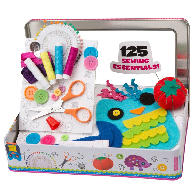 My sewing kit girls craft set educational toys planet for Arts and crafts sets for toddlers