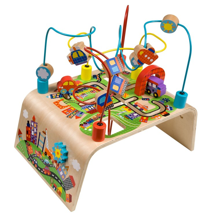 Busy Bead Maze Toddler Activity Center   Race Around.