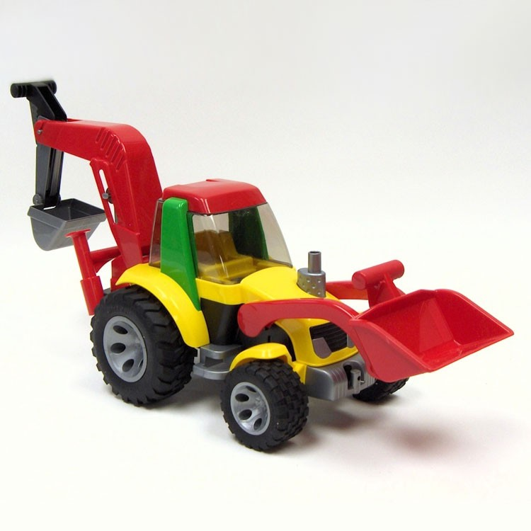 Bruder Construction Toys For Boys : Bruder roadmax toddler backhoe loader educational toys